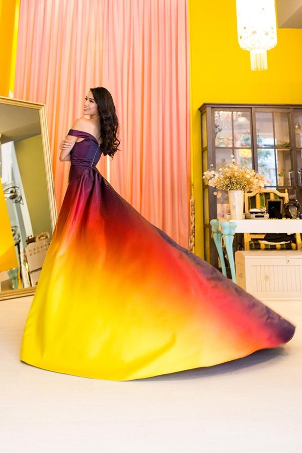 Trang phục dạ hội mới công bố của Lan Khuê. - Tin sao Viet - Tin tuc sao Viet - Scandal sao Viet - Tin tuc cua Sao - Tin cua Sao