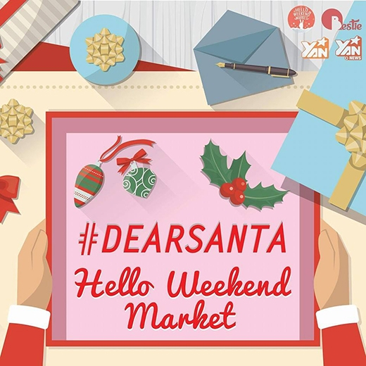 Đón Giáng sinh sớm cùng Hello Weekend Market