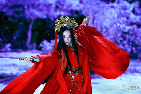 Lâm Triều Anh cũng là người có nhan sắc nghiêng nước nghiêng thành. (Ảnh: Internet)