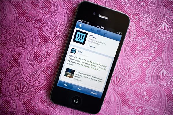 Người dùng có thể lướt Facebook cả khi kết nối chập chờn.(Ảnh: Internet)