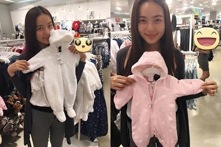 Bức ảnh làm dấy lên nghi ngờ về việc Phan Như Thảo mang thai được cô đăng tải trước đó. - Tin sao Viet - Tin tuc sao Viet - Scandal sao Viet - Tin tuc cua Sao - Tin cua Sao