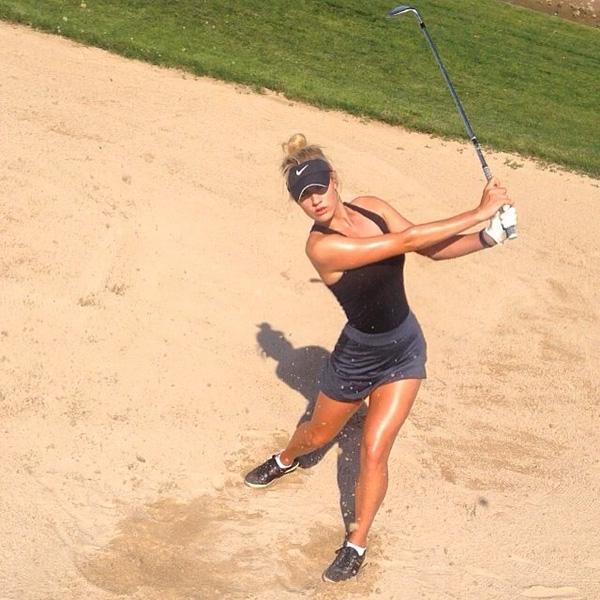 Bản thân Paige Spiranac cũng thừa nhận với báo chí rằng cô không có cùng đẳng cấp với những đối thủ còn lại ở giải đấu này. Tuy nhiên, nữ golf thủ chỉ vừa mới tốt nghiệp Đại học San Diego State cách đây chưa lâu tuyên bố, sắc đẹp không phải là yếu tố quyết định giúp cô được tới Dubai thi thố tài năng.
