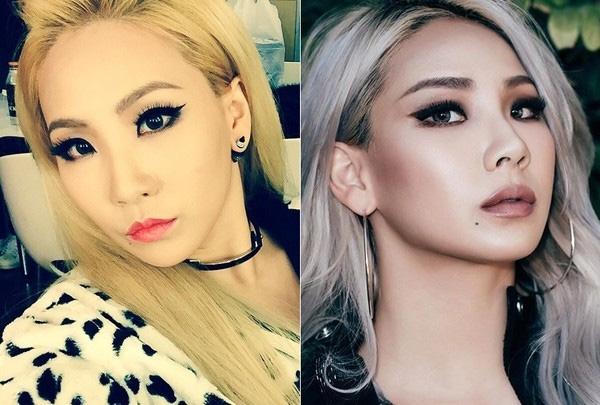Nhưng riêng về chuyện trang điểm của CL cũng trải qua nhiều sự thay đổi mới có được vẻ ngoài phong cách và gợi cảm như hiện tại. Khác biệt rõ nét trong cách trang điểm của CL hồi năm ngoái (ảnh trái) và hiện nay (ảnh phải). Dễ thấy rằng phong cách trang điểm mới đã đưa nhan sắc của thủ lĩnh 2NE1 lên một tầm cao khác hẳn.