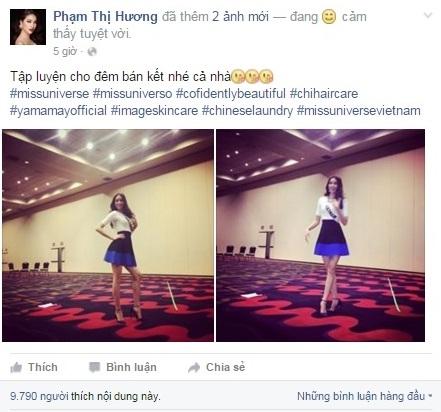 Phạm Hương bị giả mạo trắng trợn trên facebook - Tin sao Viet - Tin tuc sao Viet - Scandal sao Viet - Tin tuc cua Sao - Tin cua Sao