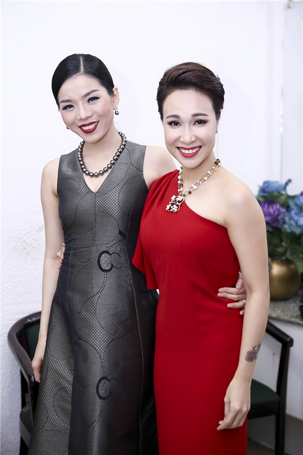 Đây cũng là dịp để các nghệ sĩ gặp gỡ nhau - Tin sao Viet - Tin tuc sao Viet - Scandal sao Viet - Tin tuc cua Sao - Tin cua Sao