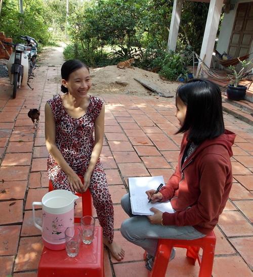 Cô gái Thùy Linh có khả năng điều khiển đồ vật. Ảnh: Internet