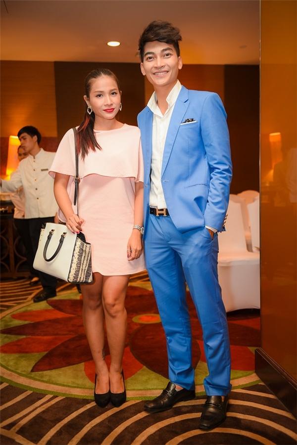 Khương Ngọc và bạn gái - diễn viên Khả Như tình tứ dự sự kiện - Tin sao Viet - Tin tuc sao Viet - Scandal sao Viet - Tin tuc cua Sao - Tin cua Sao