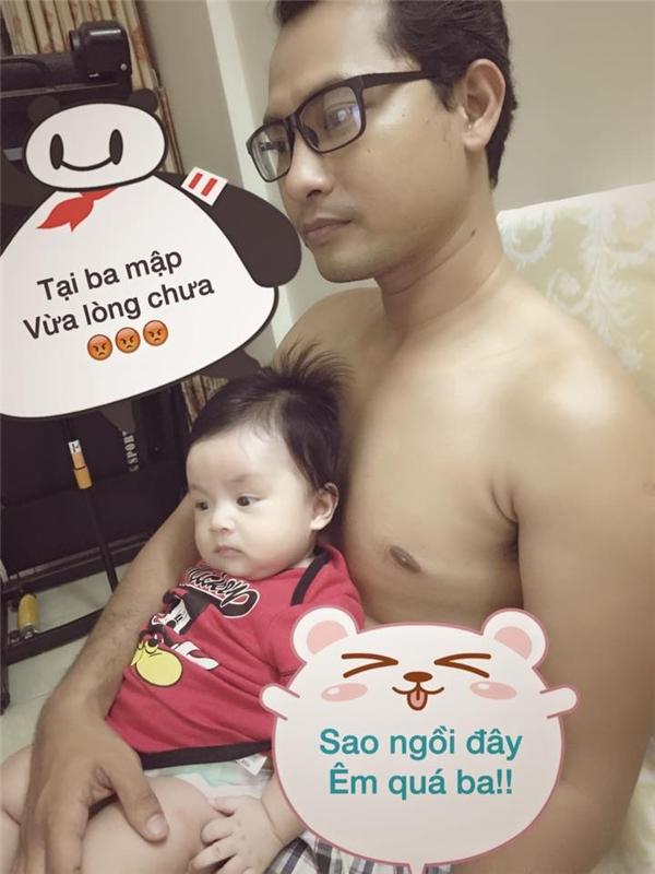 Những ông bố tuyệt vời nhất showbiz Việt 2015 - Tin sao Viet - Tin tuc sao Viet - Scandal sao Viet - Tin tuc cua Sao - Tin cua Sao