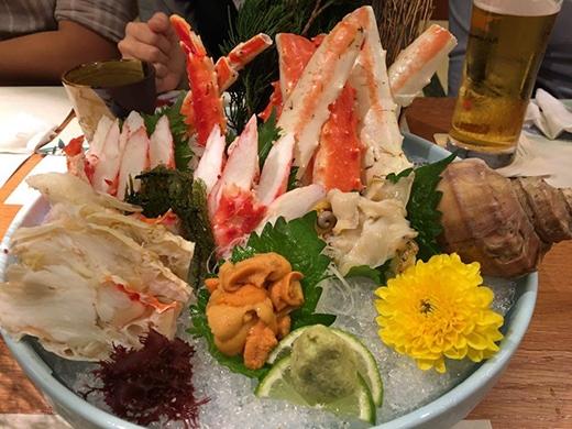 """Thưởng thức """"hải vị"""" Nhật Bản tại Sushi Hokkaido Sachi"""