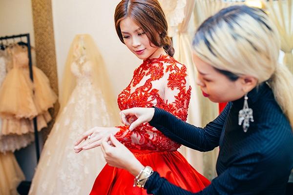 Á hậu Diễm Trang hé lộ váy cưới tuyệt đẹp - Tin sao Viet - Tin tuc sao Viet - Scandal sao Viet - Tin tuc cua Sao - Tin cua Sao