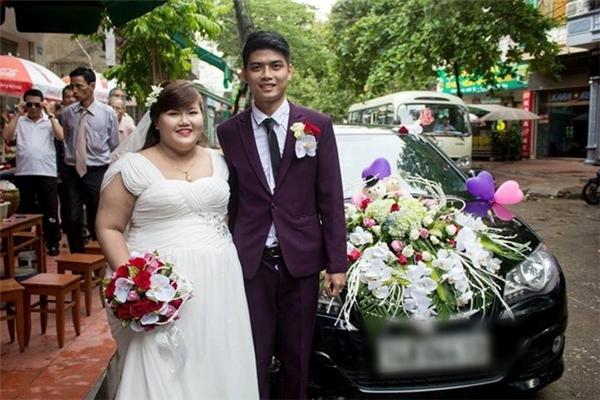 Sau hai năm tìm hiểu Thanh Tùng và Lê Mai chính thức nên duyên vợ chồng. (Ảnh: Internet)