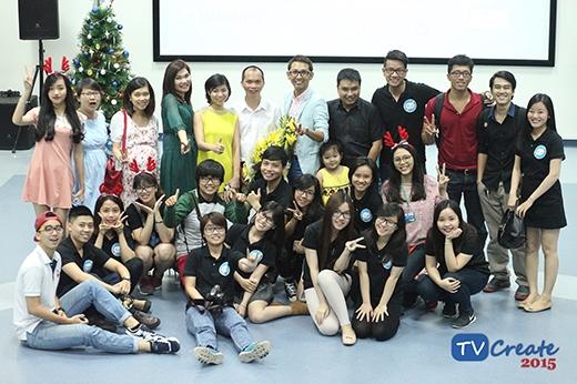 TVCreate 2015 đồng hành cùng các bạn sinh viên