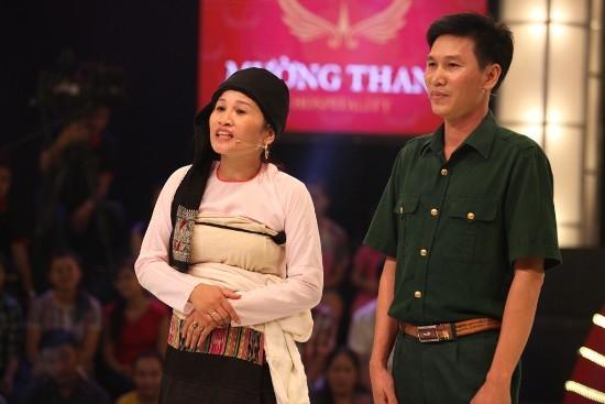 Ông xã là người ủng hộ và động viên chị Dần đến với cuộc thi.