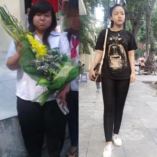 """Khát khaođược xã hội công nhận mình như một người """"bình thường"""" đã tạo cho cô nghị lực rất lớn khi giảm được 47kg. (Ảnh: Internet)"""