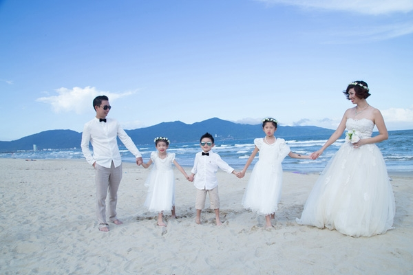 Thích mê bộ ảnh cưới tuyệt đẹp và siêu thú vị với 4 chàng rể là bạn thân suốt 20 năm