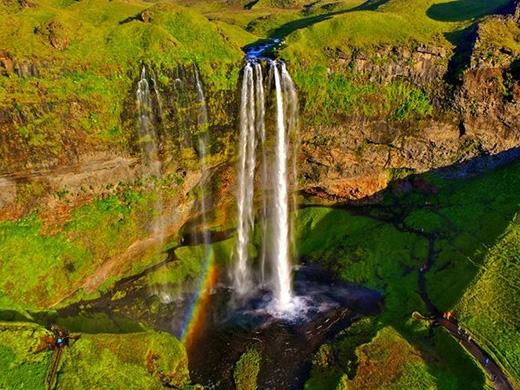 Iceland là một điểm đến nổi tiếngvớicác tay săn ảnh từ trên không.(Ảnh: Ralf Will/SkyPixel)