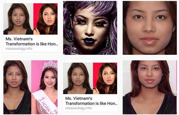 Dễ nhận thấy, những tài khoản instagram này được lập ra với mục đích bêu xấu hình ảnh của Phạm Hương. - Tin sao Viet - Tin tuc sao Viet - Scandal sao Viet - Tin tuc cua Sao - Tin cua Sao