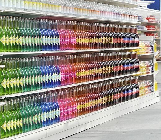 """Thêm một """"công trình kì công"""" nữa đến từ siêu thị. (Ảnh: Viralnova)"""