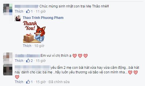 """""""Món quà"""" đặc biệt ngay cuối năm của Thanh Thảo gửi tặng con trai và người hâm mộ nhận được rất nhiều lời khen ngợi vì chạm được vào cảm xúc của mọi người. - Tin sao Viet - Tin tuc sao Viet - Scandal sao Viet - Tin tuc cua Sao - Tin cua Sao"""