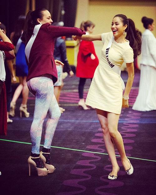 Những hình ảnh của Phạm Hương tại Miss Universe 2015. - Tin sao Viet - Tin tuc sao Viet - Scandal sao Viet - Tin tuc cua Sao - Tin cua Sao