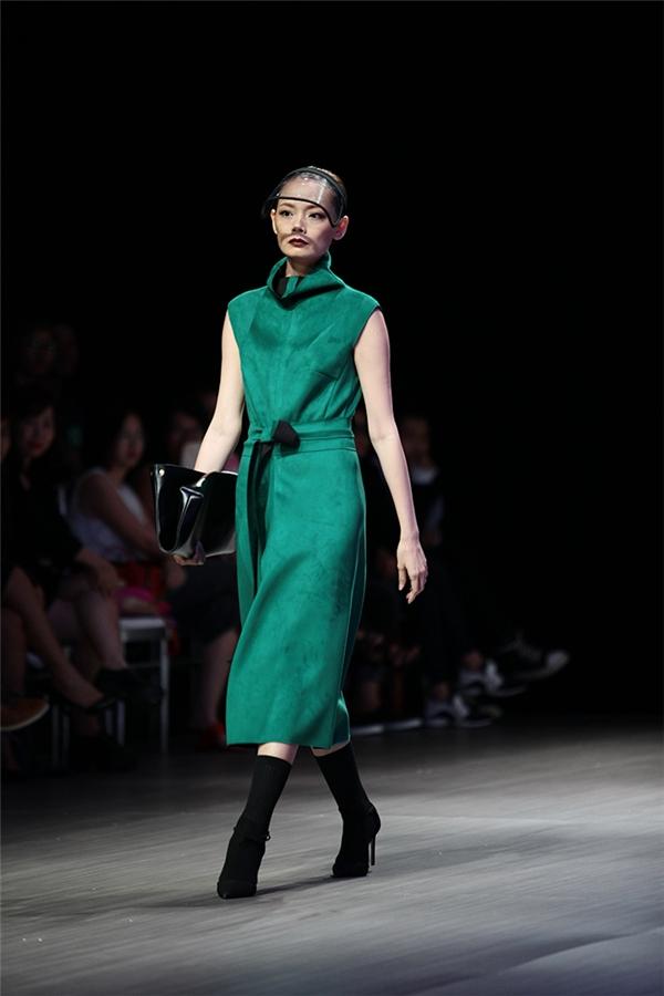 Những sắc màu thời trang Thu - Đông đầy mê hoặc