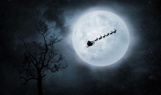 Sẽ có trăng tròn trong đêm Giáng Sinh. (Ảnh: Getty)