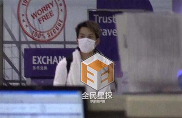 Chung Hán Lương bị phóng viên bắt gặp đang lén lút thăm vợ con