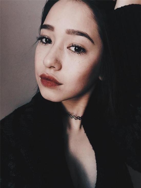 Klaudia Nguyễncũng sở hữu đôi môi đẹp hoàn hảo. (Ảnh Internet)