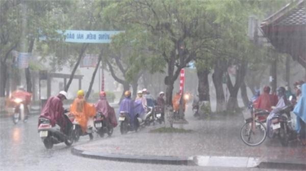 Do ảnh hưởng của cơn bão, có thể nhiều nơi sẽ có mưa to và rất to. Ảnh: Internet