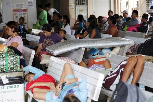 Bão Melor tràn quaPhilippines gây ra hậu quả nặng nề. Ảnh: Internet