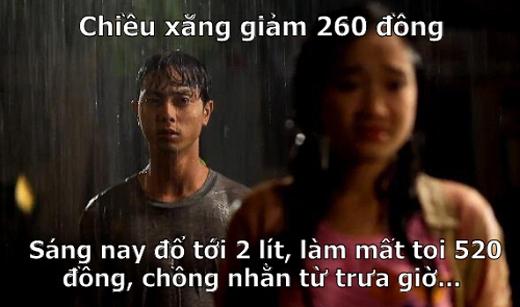 Xăng giảm giá ở Việt Nam:Việt Nam bất ngờ leo lên đầu bảng xếp hạng các quốc giahạnh phúc nhấtthế giới chỉ sau một buổi chiều…(Ảnh: Internet)