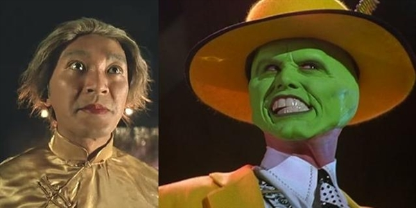 Trong bộ phim Siêu Nhân Biến Hình (1995), Châu Tinh Trì đeo mặt nạ biến hình. Từ tạo hình lẫn nội dung của phim khá giống tạo hình nhân vật của Jim Carrey cũng như bộ phim hành động hài kinh điển The Mask (1994).