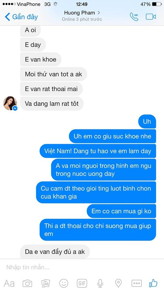 Một người bạn của Phạm Hương đã chia sẻ những dòng tâm sự của người đẹp trên mạng xã hội. - Tin sao Viet - Tin tuc sao Viet - Scandal sao Viet - Tin tuc cua Sao - Tin cua Sao