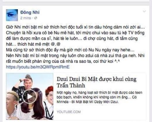 """Đông Nhi khiến fan thích thú với sở thích…hồn nhiên """"như cô tiên"""" - Tin sao Viet - Tin tuc sao Viet - Scandal sao Viet - Tin tuc cua Sao - Tin cua Sao"""