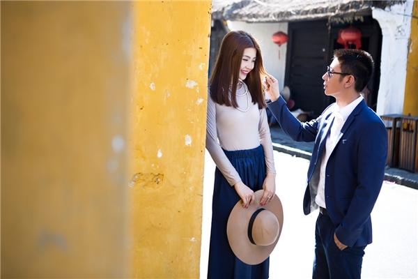 Diễm Trang khéo léo khoe người bạn đời của mình trong bộ ảnh cưới đầy lãng mạn. - Tin sao Viet - Tin tuc sao Viet - Scandal sao Viet - Tin tuc cua Sao - Tin cua Sao
