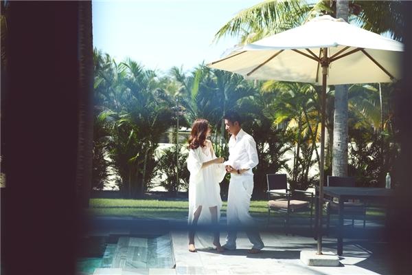Những khoảnh khắc ngọt ngào, lãng mạn của vợ chồng Diễm Trang. - Tin sao Viet - Tin tuc sao Viet - Scandal sao Viet - Tin tuc cua Sao - Tin cua Sao