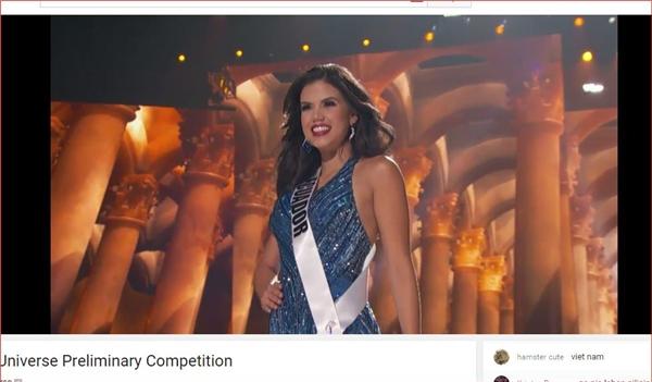 Đại diện Myanmar bị té ngã trên sân khấu Miss Universe - Tin sao Viet - Tin tuc sao Viet - Scandal sao Viet - Tin tuc cua Sao - Tin cua Sao
