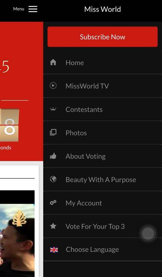 Vào thanh menu bên góc phải trên cùng của màn hình sau đó chọn Vote for your top 3 (dòng thứ hai từ dưới lên) - Tin sao Viet - Tin tuc sao Viet - Scandal sao Viet - Tin tuc cua Sao - Tin cua Sao