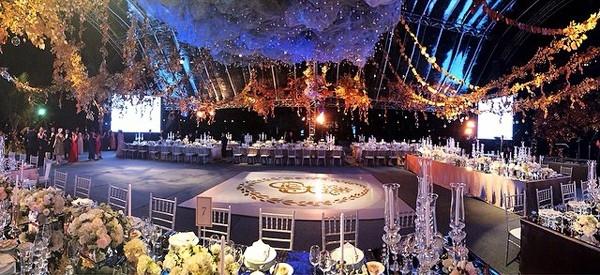 Khung cảnh bên trong tiệc cưới. (Ảnh: Internet)