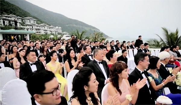 Những khách mời trong lễ cưới. (Ảnh: Internet)