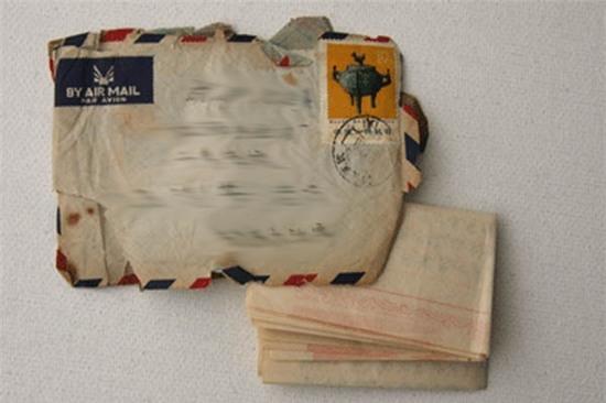 Hai bức thư khiến bà Tú Anh nhiều năm phải trăn trở. Ảnh: Internet