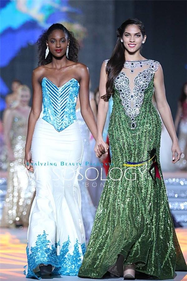 Việc nằm trong số ít người đẹp được đăng hình riêng cho thấy sự nổi bật của Lan Khuê tại cuộc thi Hoa hậu Thế giới 2015. - Tin sao Viet - Tin tuc sao Viet - Scandal sao Viet - Tin tuc cua Sao - Tin cua Sao