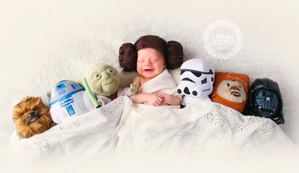 Cô công chúa Leia đáng yêu. (Ảnh Internet)