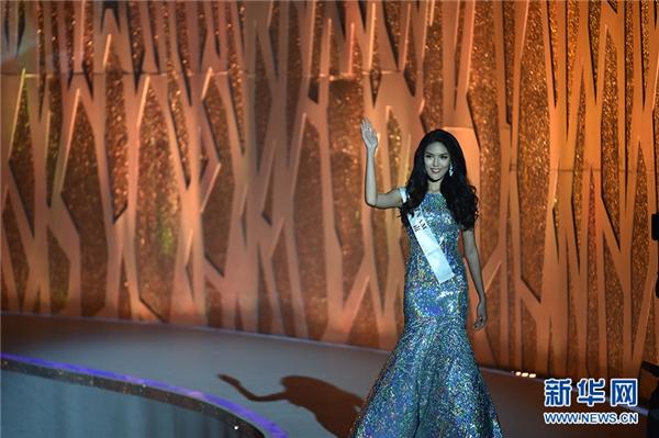 Lan Khuê trên sân khấu chung kết Miss World 2015. - Tin sao Viet - Tin tuc sao Viet - Scandal sao Viet - Tin tuc cua Sao - Tin cua Sao