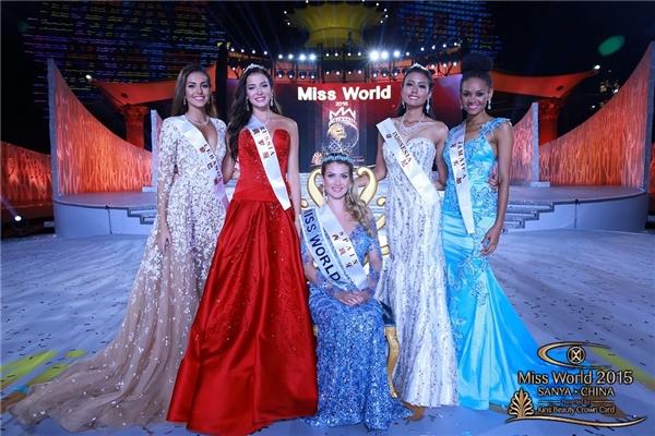 Top 5 chung cuộc: Tây Ban Nha, Nga, Li-băng, Jamaica và Indonesia