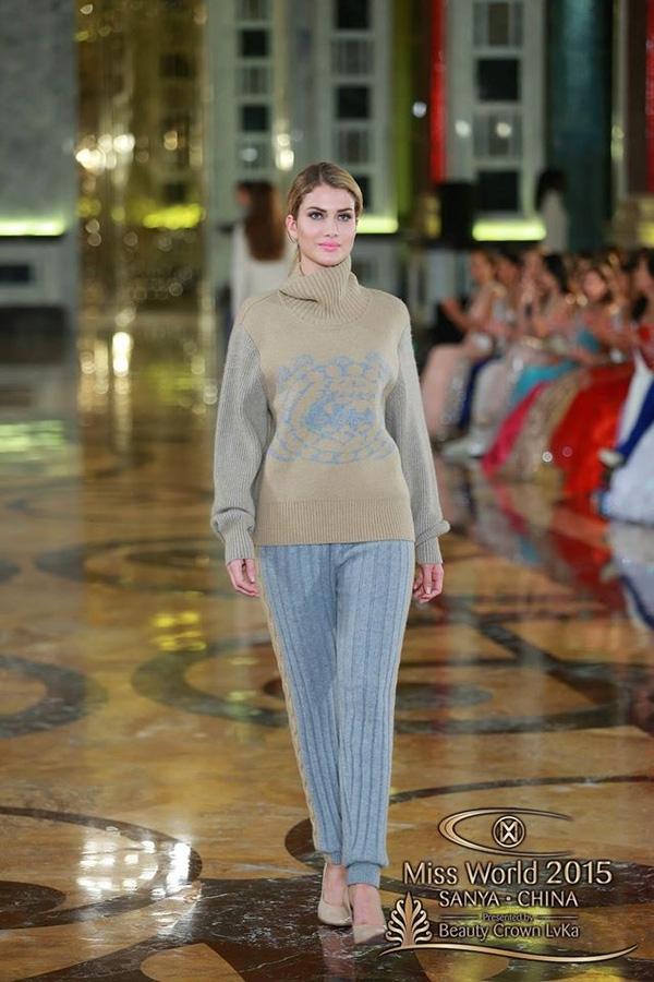 Mireia cũng là người chiến thắng trong phần thi phụ Top Model.