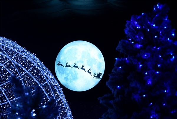 Ngôi làngtuyết được mô phỏng trên hình ảnh ngôi làng cổ Bắc Âu mùa Giáng sinh.(Ảnh Internet)