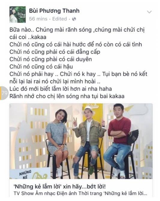 Ca sĩ Phương Thanh và lời thách thức gây bão hôm nào... - Tin sao Viet - Tin tuc sao Viet - Scandal sao Viet - Tin tuc cua Sao - Tin cua Sao