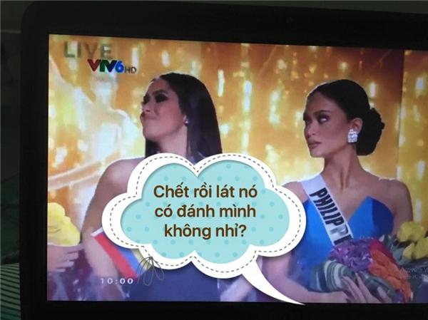 """Hoa hậu Phillippines lo lắng sẽ bị """"trả thù"""" đằng sau cánh gà."""