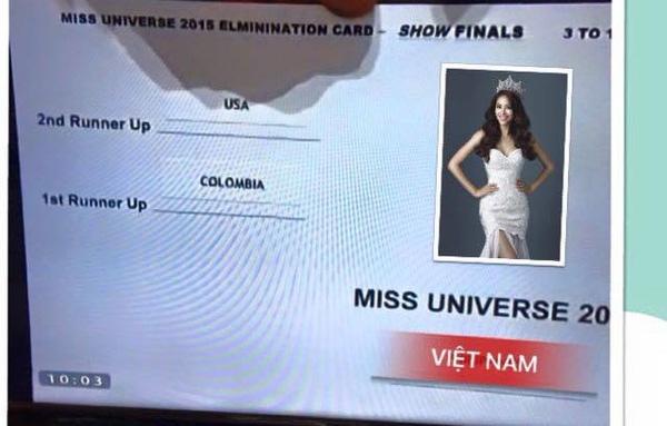 """""""Hoa hậu Hoàn vũ Thế giới 2015 - Việt Nam"""""""